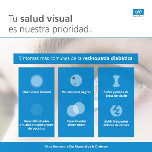 Síntomas Retinopatía Diabética ESSILOR