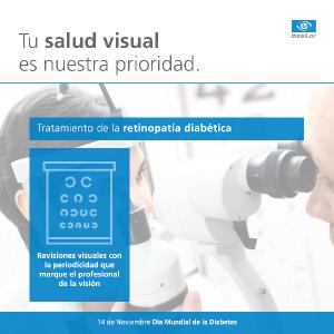tratamiento retinopatía diabética ESSILOR