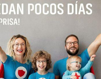 Plan Superfamilias, 60% de descuento en tus lentes